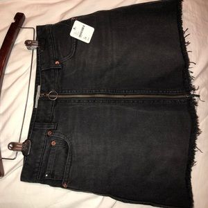 Free People jean skirt new with tags